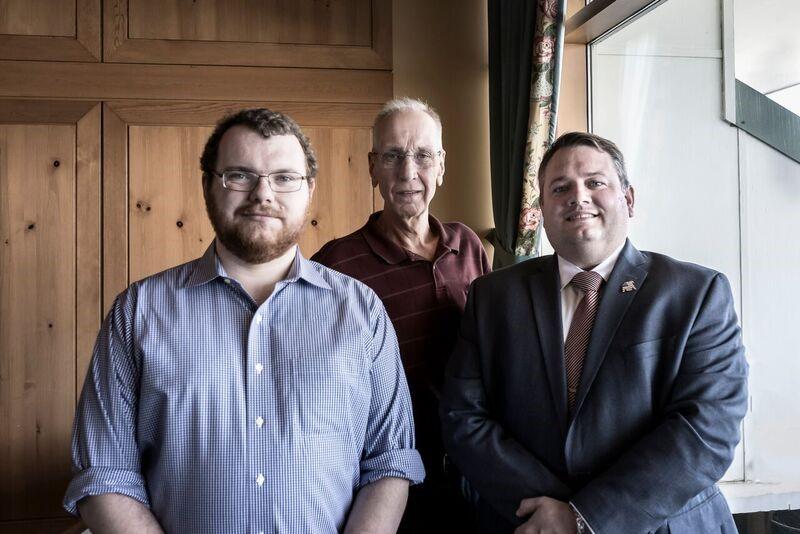 From left: John Golden, John Mette, Doug MacLachlan